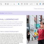 Interactieve PDF Jeugd & Veiliheid - studio SNH grafisch ontwerp