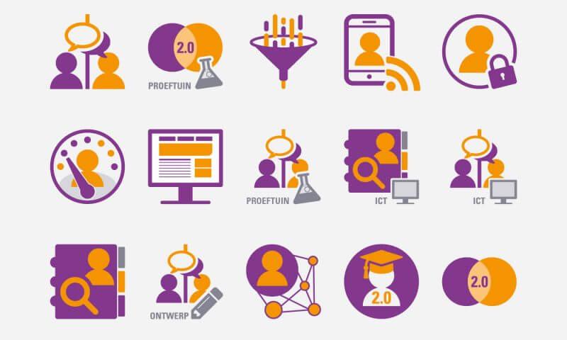 Iconen slachtofferhulp 2-0 - studio SNH grafisch ontwerp