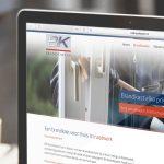 WordPress webdesign BK Brandkasten door studio SNH-mobiel