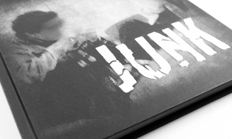 Opmaak boek JUNK door studio SNH