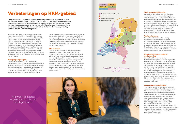 Grafisch ontwerp jaarverslag - S&H Ontwerp