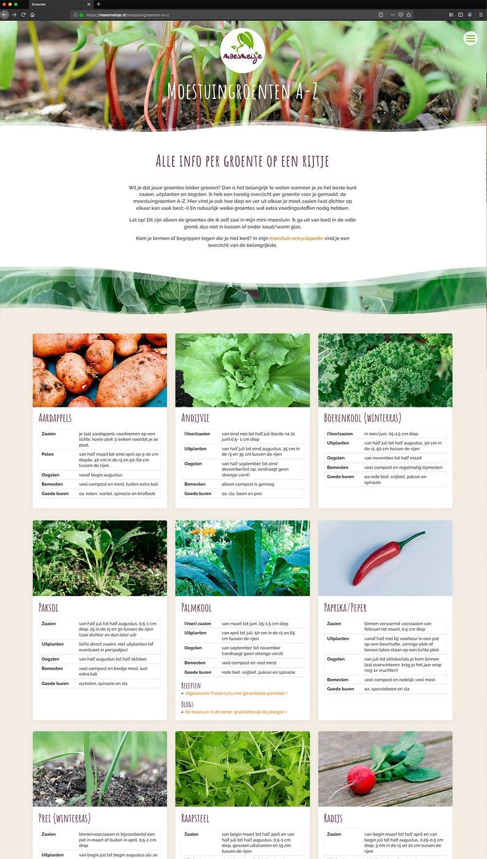 Groenten-van-A-tot-Z-Moesmeisje---Divi---studio-SH-webdesign