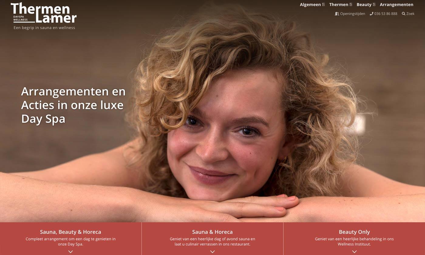 WordPress-Webdesign-voor-Thermen La Mer-studio-SNH
