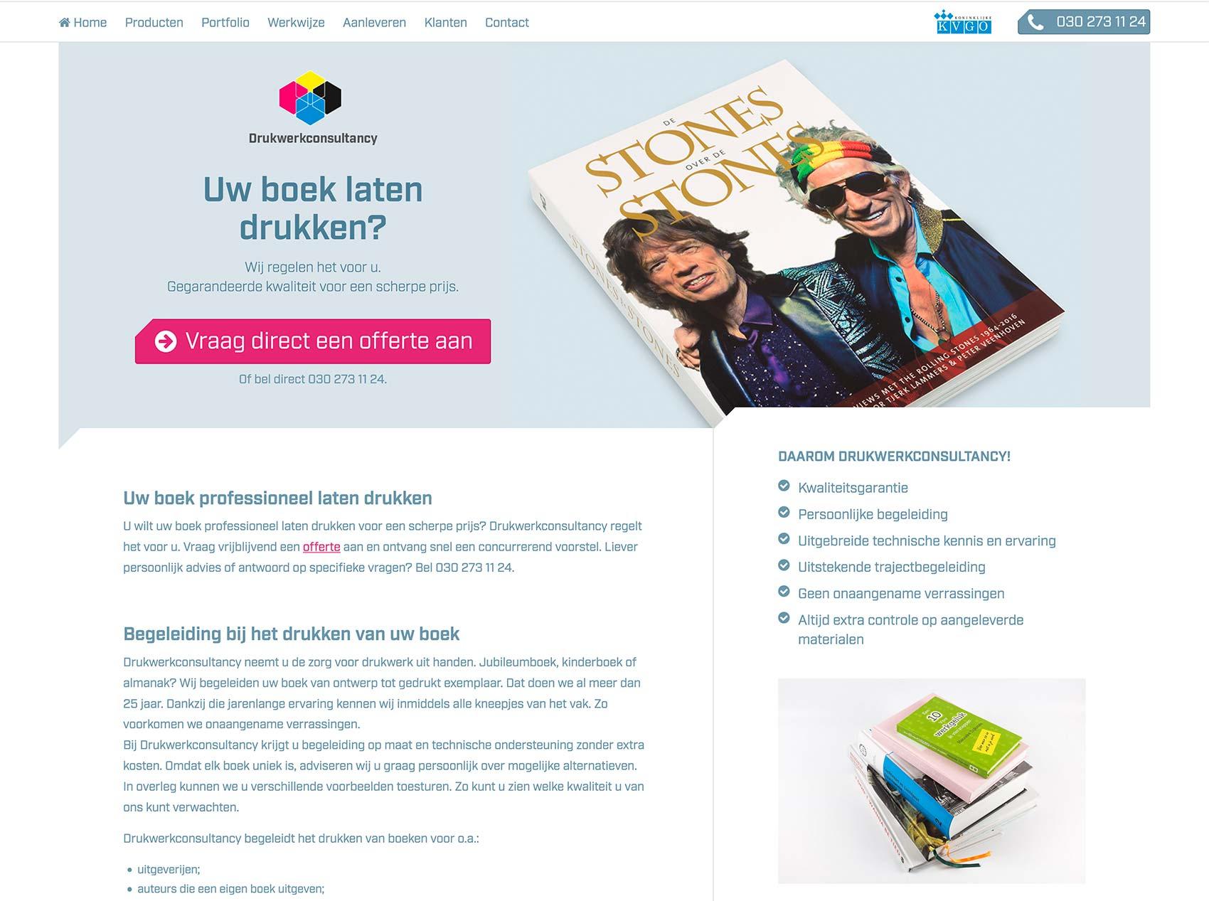 Wordpress website DWC_studiosnh grafisch ontwerp